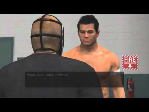 WWE Smackdown Vs Raw 2011 Road To WrestleMania Mysterio Part 1 Car Crash