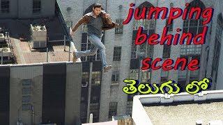 how edit vfx Building jump in movie behind secret in telugu/vfx edting in telugu