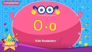 Kids vocabulary compilation - Words starting with O, o - Learn English for kids