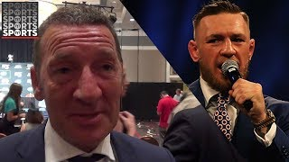 Conor McGregor's Dad Says He Is Not a Racist
