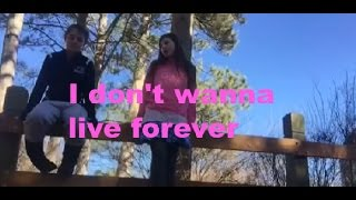 """""""I Don't Wanna Live Forever (Fifty Shades Darker)"""" Fan Video"""