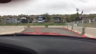Dodge Thrill Ride from the inside - Barrett Jackson 2017