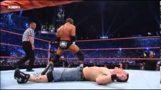 Randy Orton vs. John Cena vs. Triple H - WWE Championship Triple Threat Match- WrestleMania XXIV