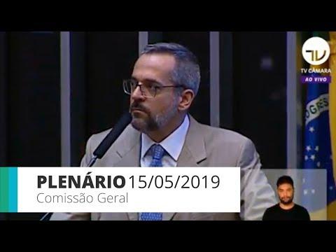 Xxx Mp4 Plenário Comissão Geral Ouve Ministro Da Educação 15 05 2019 3gp Sex