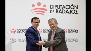 La Fundación Yehudi Menuhin España firma un convenio con la Diputación para educar a través del arte