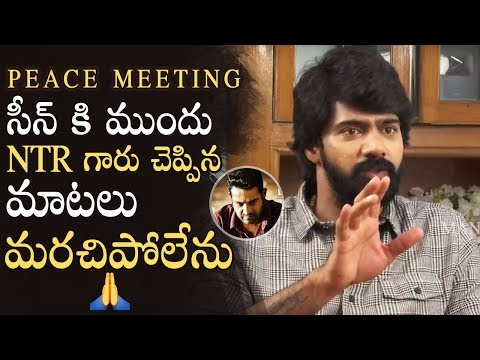 Xxx Mp4 Actor Naveen Chandra Emotional Words About Jr NTR Peace Meeting Scene Aravinda Sametha 3gp Sex