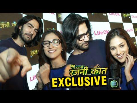 Meet Karan V Grover aka Shaan And Ridhima Pandit aka Rajnikant Of Bahu Hamari Rajnikant | Life OK