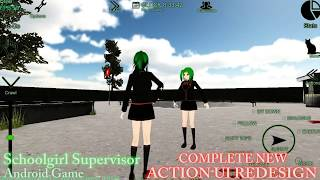 Schoolgirl Supervisor (ANIME) - COMPLETE NEW ACTION UI REDESIGN - SO MUCH EASIER TO INTERACT