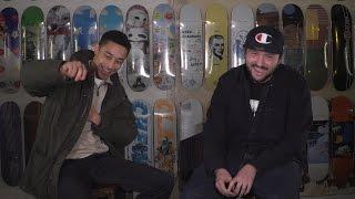 Rapper Loyle Carner and producer Rebel Kleff debate Liverpool v West Ham