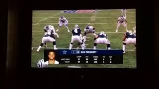 Dak Prescott Forgets His Helmet!!! | Giants Vs Cowboys | NFL