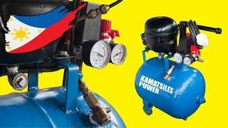 Silent Air Compressor (DIY)