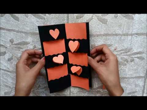 Secret Message Card Tutorial | Valentines Day Cards | Valentine cards | Valentine's day card ideas