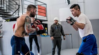 ROAD TO #UFC235 | EP3 - SAVAGE MODE!! Solid sparring with the TEAM!