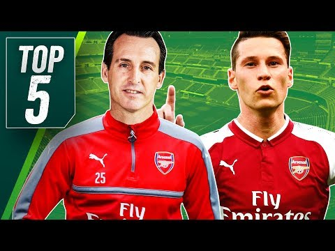 Xxx Mp4 Five Summer Transfers For New Arsenal Manager Unai Emery Including PSG S Draxler 3gp Sex