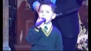 Amazing Voice A little boy with an amazing voice
