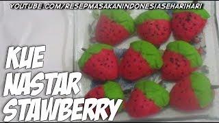 resep kue kering - resep kue nastar strawberry
