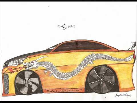 Desenhos de Carros por Hiago Vinícius