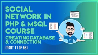 Social Network with PHP in Urdu/Hindi part 11 creating database & connection