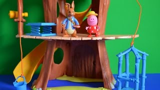 Peppa Pig Episode Visit Peter Rabbit At the Tree House Full Story