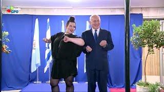 رقص نتانیاهو با بارزیلای، برنده اسرائیلی یوروویژن