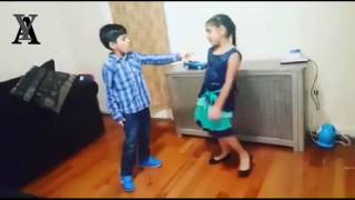 A Littel Boy And Girl Dancing In Do You Know Diljit's Song