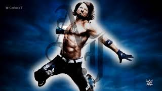 "AJ Styles 1st WWE Theme Song - ""Phenomenal"" with Arena Effects"