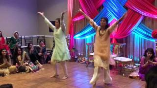 Pakistani Wedding Dance- Aaja Nachle & Kar Gayi Chull