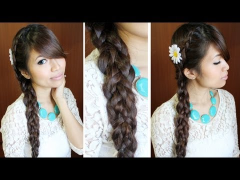 Dutch Multi Braid Hairstyle for Medium Long Hair Tutorial