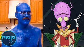 Another Top 10 Celebrities Who Appeared on Rick and Morty