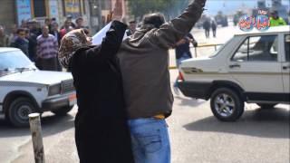 """ست بـ 100 راجل..  """" رزعت """" اخواني بالقفا في التحرير"""