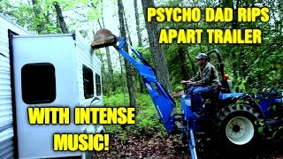 Psycho Dad Rips Apart Trailer With Intense Music!
