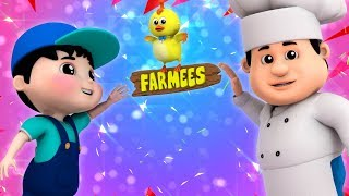 Pat A Cake Pat A Cake Baker's Man | Nursery Rhymes | Children Songs | Baby Rhymes by Farmees