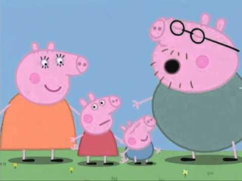 A família Pig invade o Clube DX TV