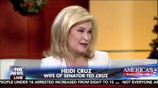 Heidi Cruz on Fox and Friends - December 10, 2015