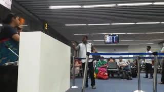Air india  flight  funny passenger