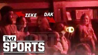 Ezekiel Elliott & Dak Prescott Go Monday Night Clubbin