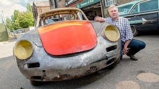 Episode 6: Crash Damaged Classic Porsche Gets Metal Makeover - Rust To Riches