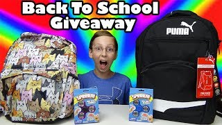 BACK TO SCHOOL SUPPLIES GIVEAWAY & HAUL 2017 - TARGET SHOPPING | COLLINTV