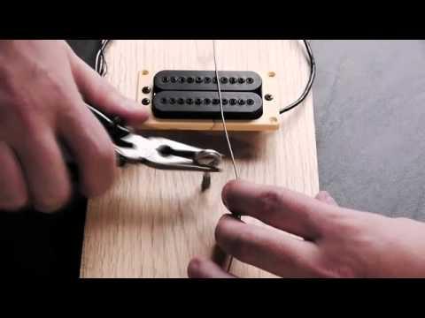 Construya una Guitarra Eléctrica Simple en 10 minutos.flv