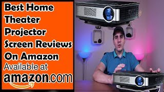 Best Home Theater Projector Screen Reviews Topfoison Native 1080p Full HD BEst Projector Review