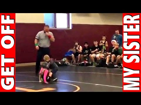 Xxx Mp4 Little Brother Saves Sister In Wrestling Match GET OFF My Sister 3gp Sex