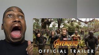 Avengers: Infinity War Official Trailer REACTION
