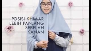 tutorial Khimar Square hijab alila