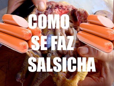 How It s Made Como se faz salsicha Veja como é fabricada a salsicha Dublado portugues
