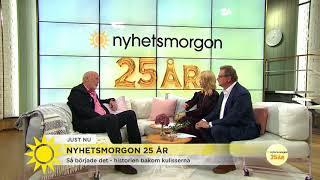 Han startade Nyhetsmorgon för 25 år sen - Nyhetsmorgon (TV4)