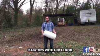 Diaper tips with uncle rob