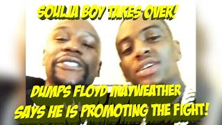 Soulja Boy DISRESPECTS Floyd Mayweather: Takes over Chris Brown Fight. He Invented Internet | JTNEWS
