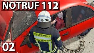 DOPPELTER EINSATZ ► NOTRUF 112 #02 ► Feuerwehr Simulation