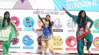 Best Punjabi Bhangra Song Dance at Inspire 2017 - RNB Global University
