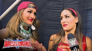 The Bella Twins contemplate their future together in WWE: WrestleMania 32 Exclusive, April 3, 2016